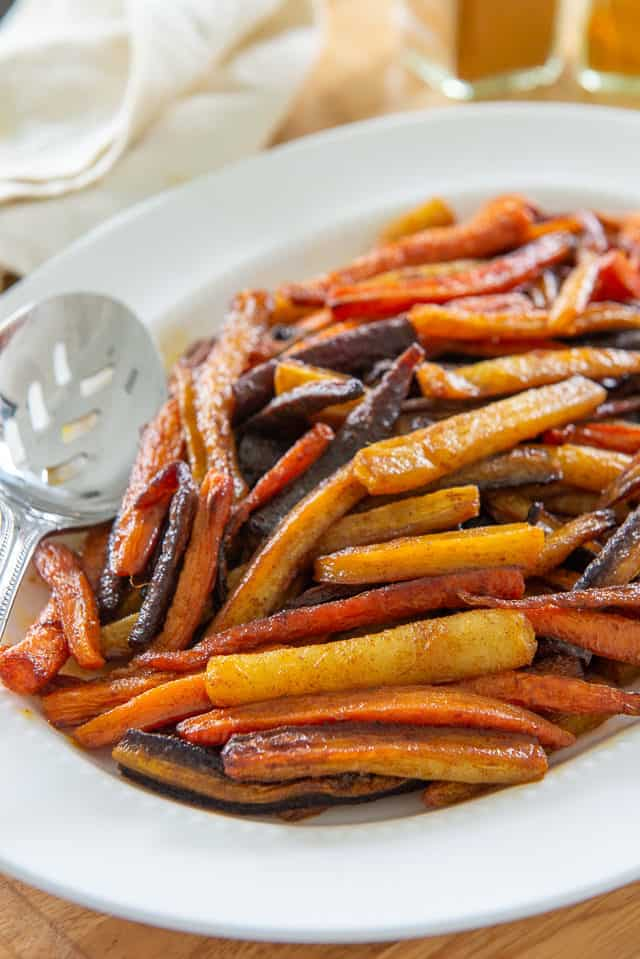 Roasted Carrots - Tossed with Olive Oil and Spices