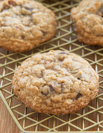 The Very Best Oatmeal Chocolate Chip Cookies