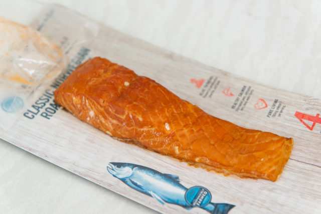 Hot Roasted Salmon in Packaging
