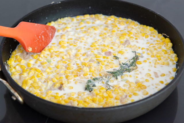 How to Make Creamed Corn - By Cooking Gently on the Stovetop